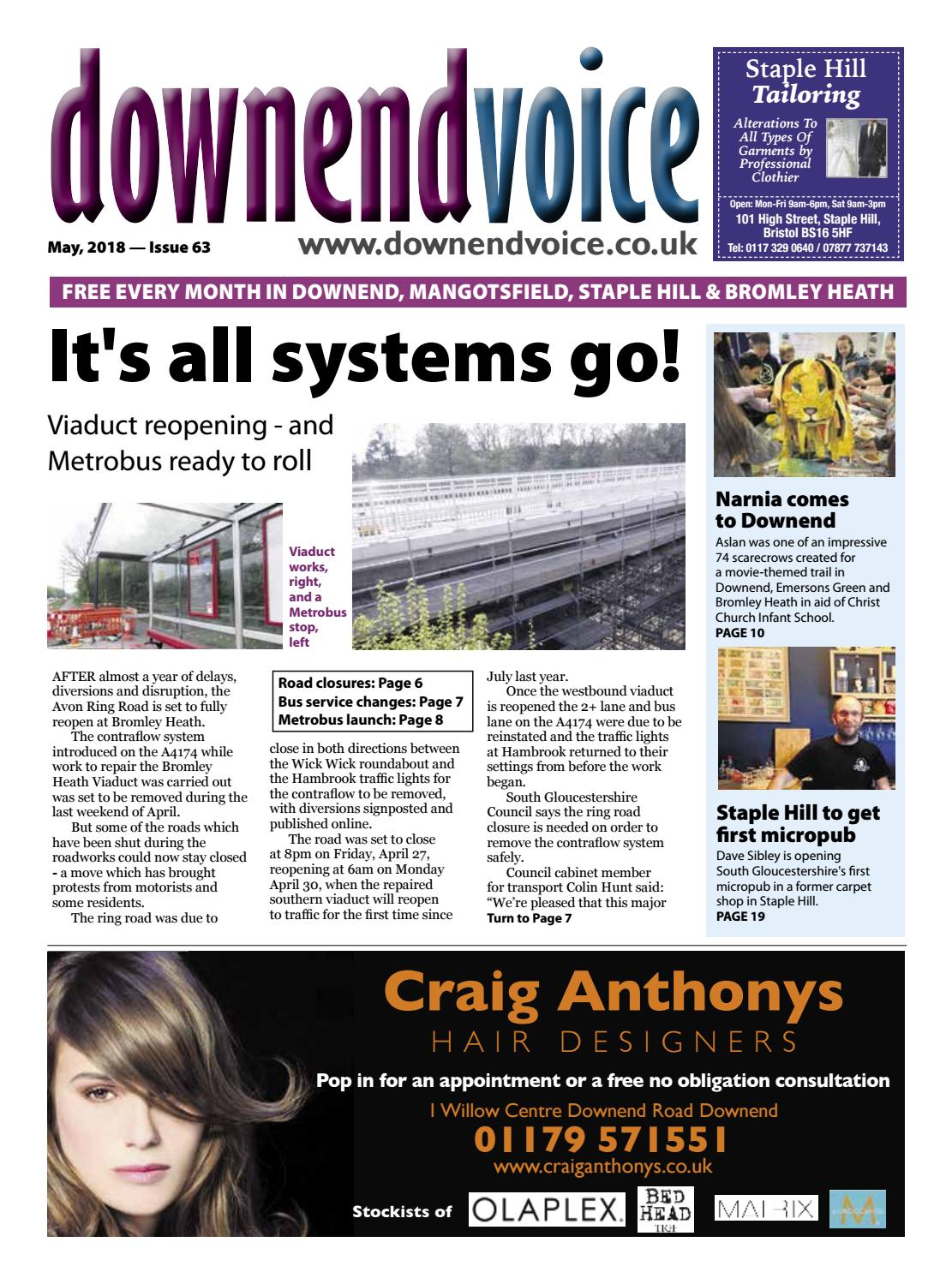 Downend Voice May 2018 By Gary Brindle Issuu