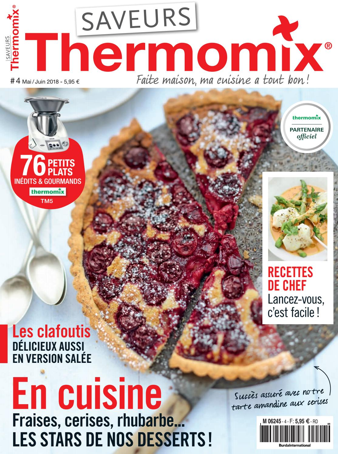 Extrait pdf thermomix 4 by saveurs magazine issuu - Ma cuisine 100 facons thermomix pdf ...