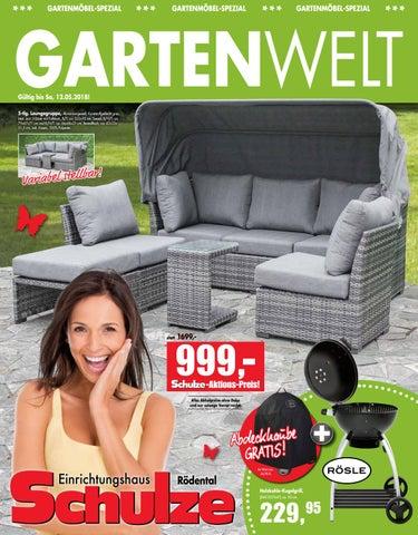 Einrichtungshaus Schulze Rödental | Gartenwelt by Möbel Schulze - issuu