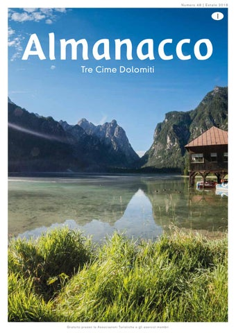 Almanacco estate 2018 by 3 Zinnen Dolomites - issuu