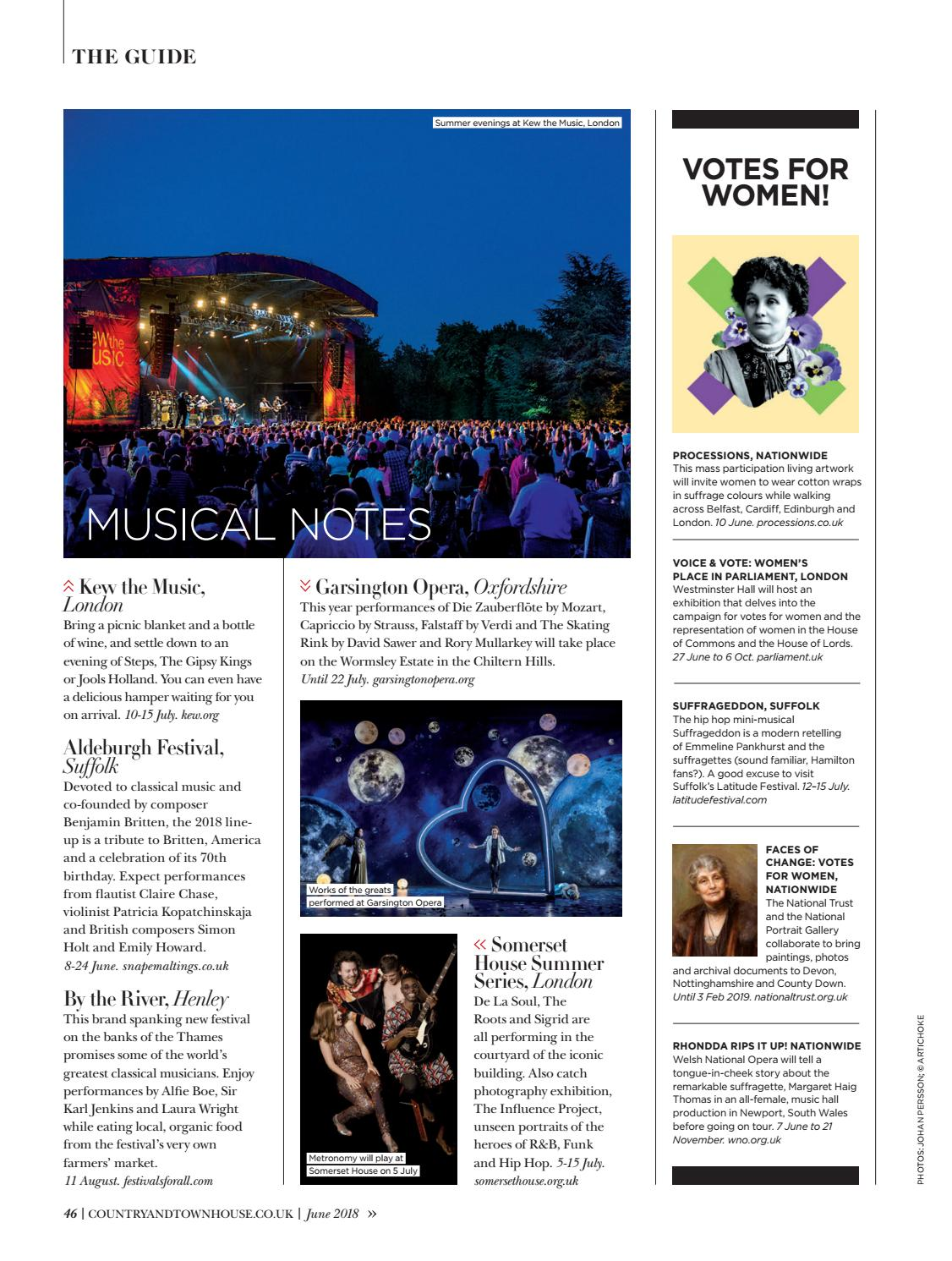 Country & Town House June 2018