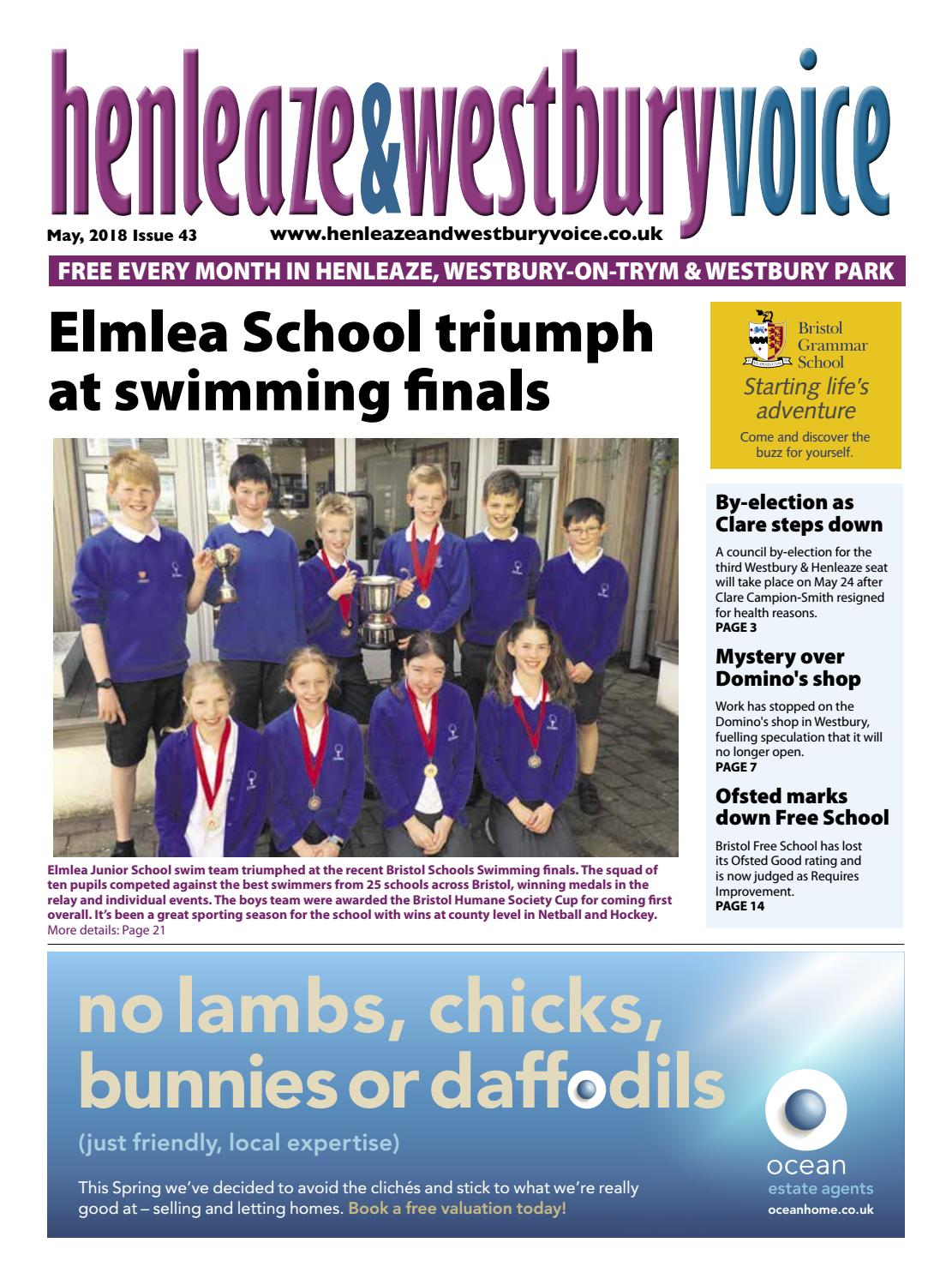 e28af98d8 Henleaze & Westbury Voice May 2018 by Emma Cooper - issuu