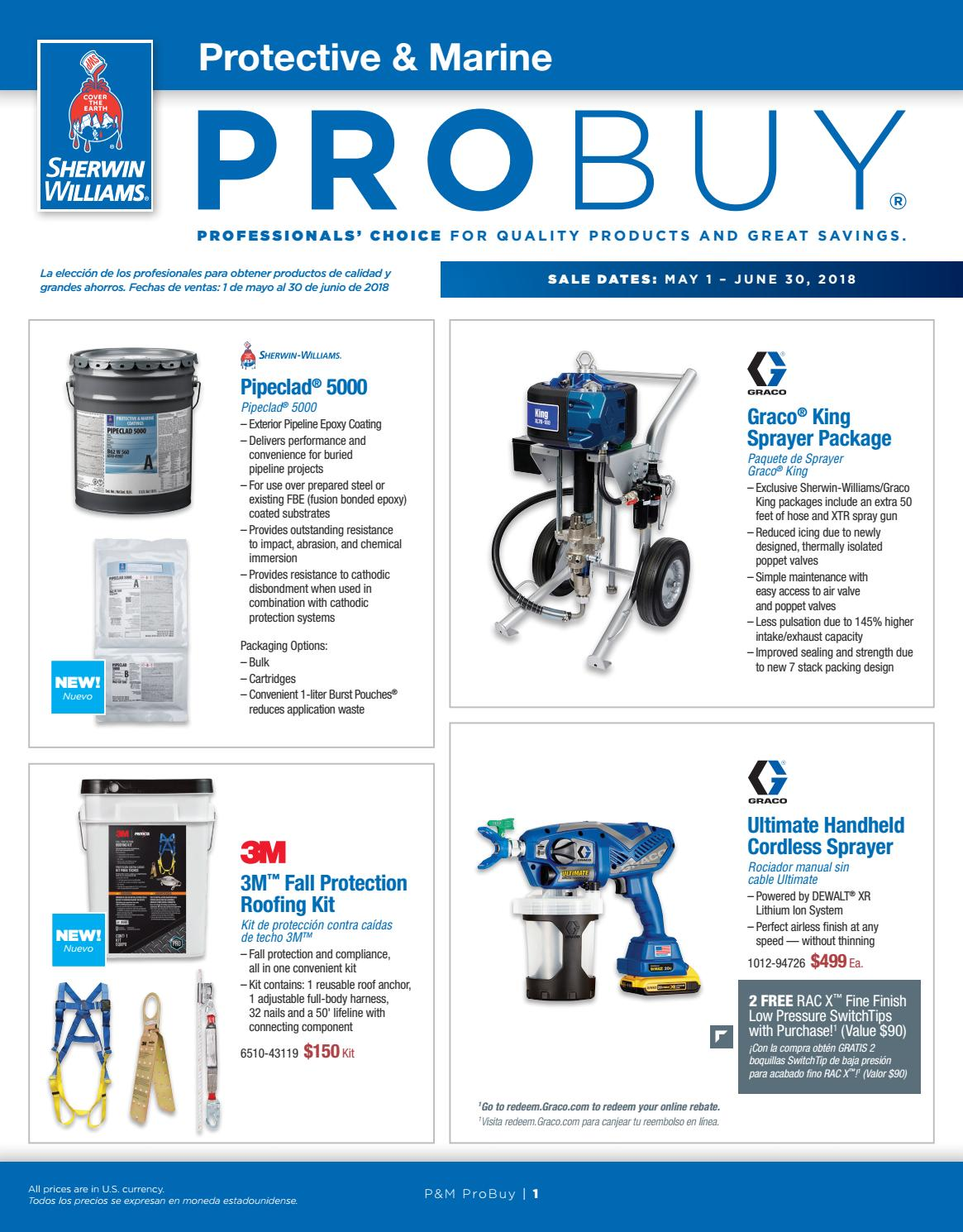 P&M ProBuy May June 2018 by Sherwin-Williams - issuu