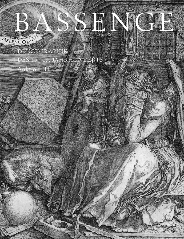 Bassenge Kunstauktion 111 Druckgraphik Des 15 19