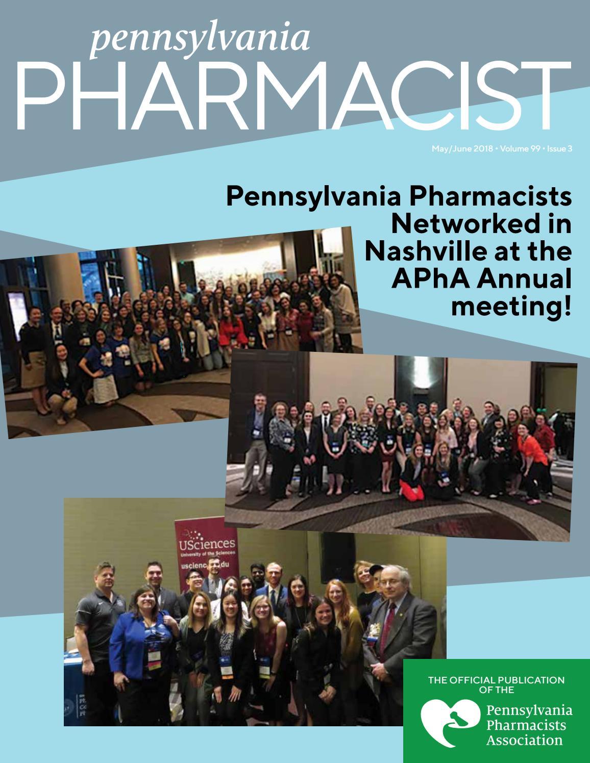 Usciences Academic Calendar.Pennsylvania Pharmacist May June 2018 By Graphtech Issuu