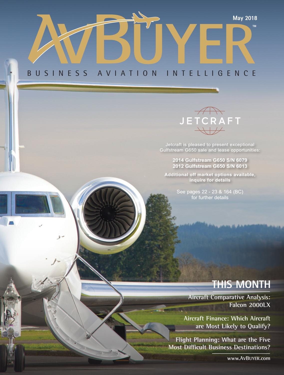 AvBuyer Magazine May 2018 by AvBuyer Ltd  - issuu