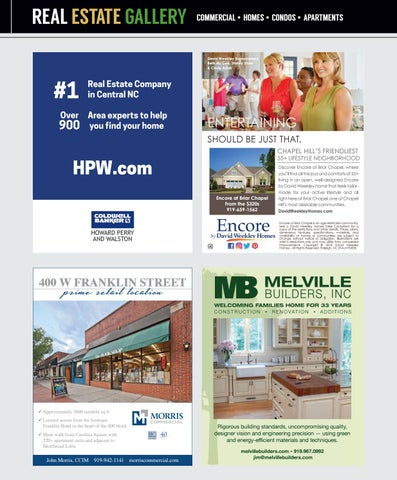 Chapel Hill Magazine May June 2018 By Shannon Media Issuu