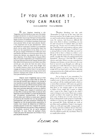 Page 25 of Reflections: If you can dream it, you can make it