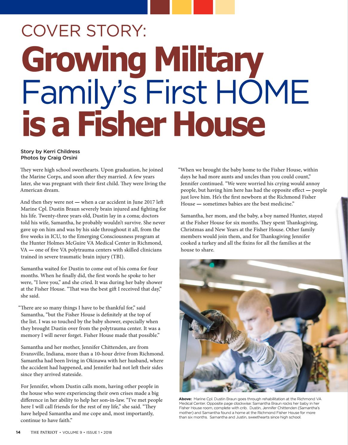 The Patriot Magazine Volume 9 Issue 1 by Fisher House