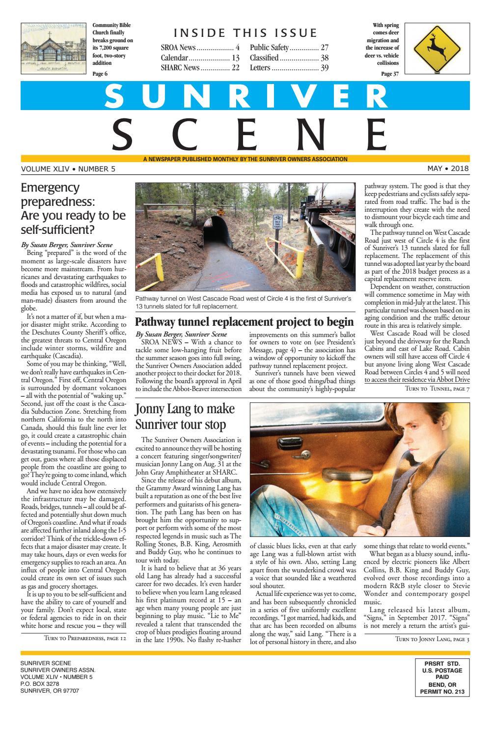 d30510bafa5a May 2018 Sunriver Scene by Sunriver Scene - issuu