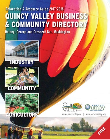 2014 Quincy Valley Visitors Guide By Quincy Valley Post Register Issuu