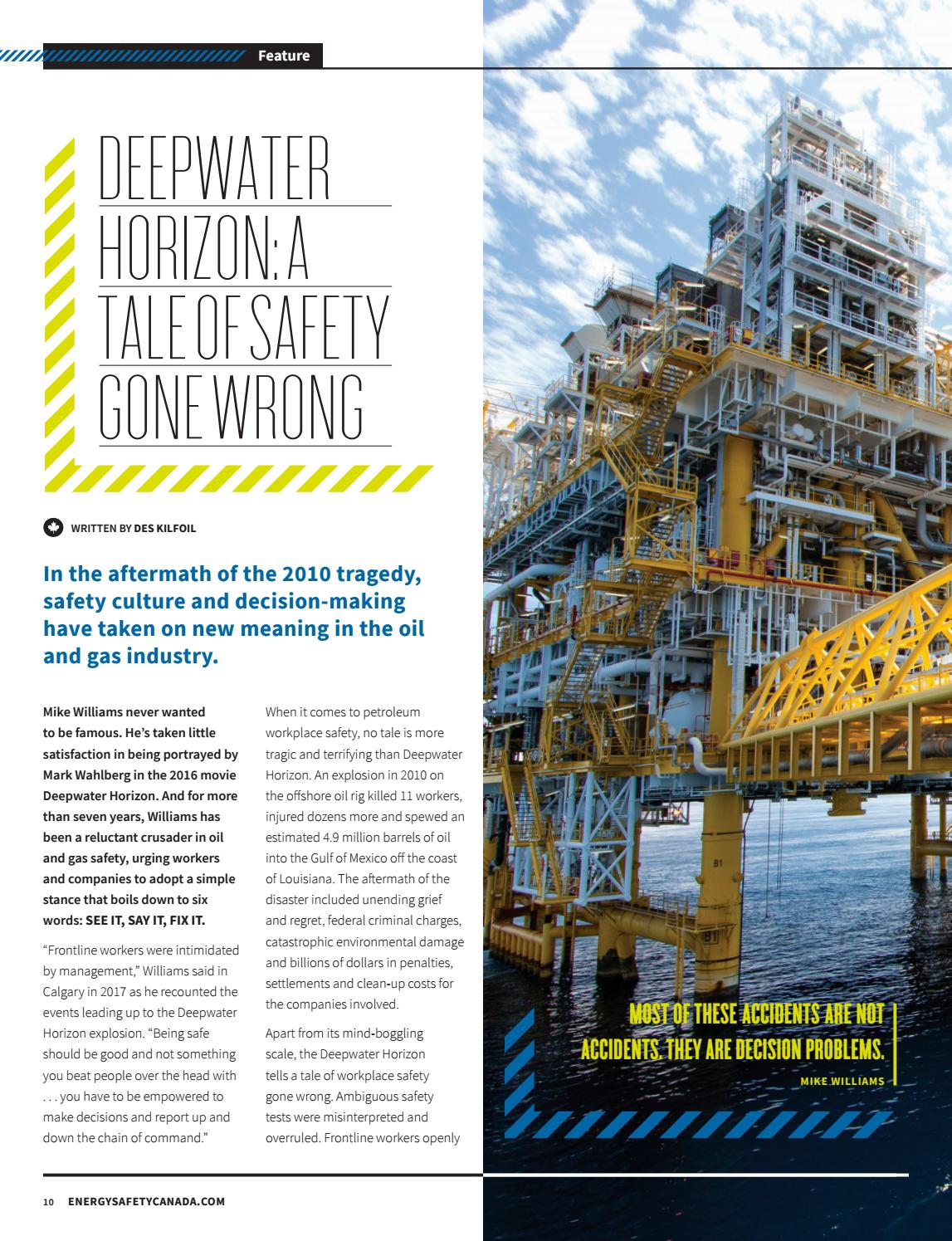 Spring 2018 - Petroleum Safety Conference Edition by Energy