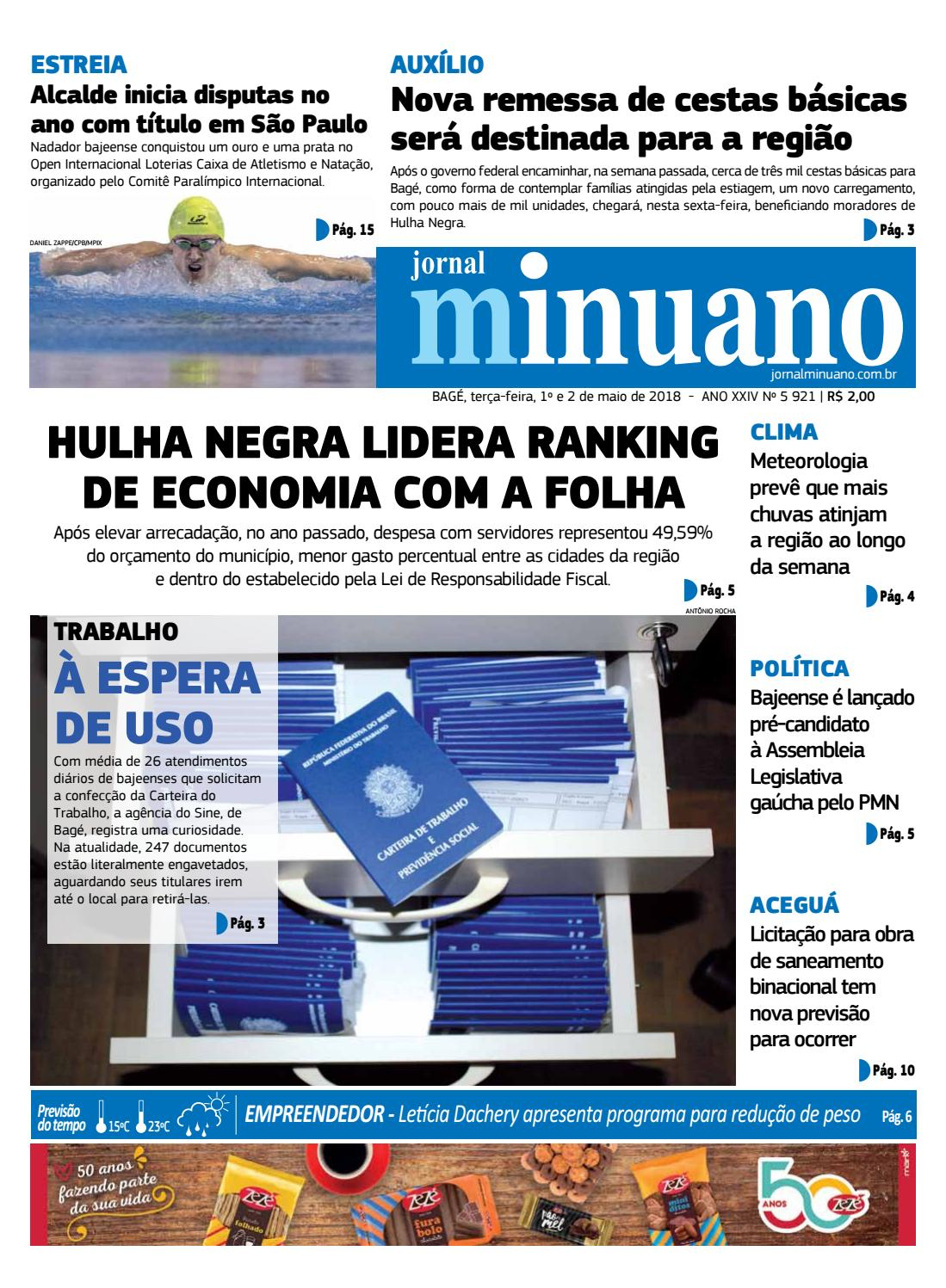 da4a46c29 20180501 by Jornal Minuano - issuu