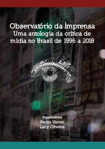 f84971d56 Uma antologia da crítica de mídia no Brasil de 1996 by Observatório ...