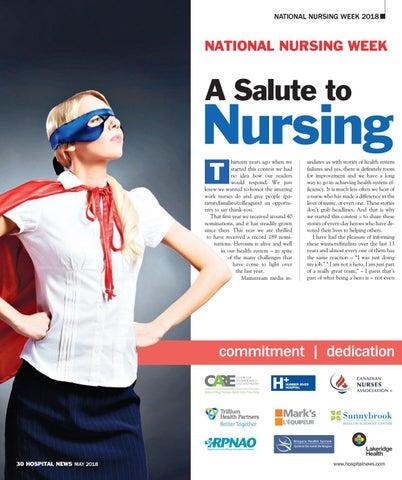 823101120cb Hospital News 2018 Nursing Hero Supplement by Hospital News - issuu