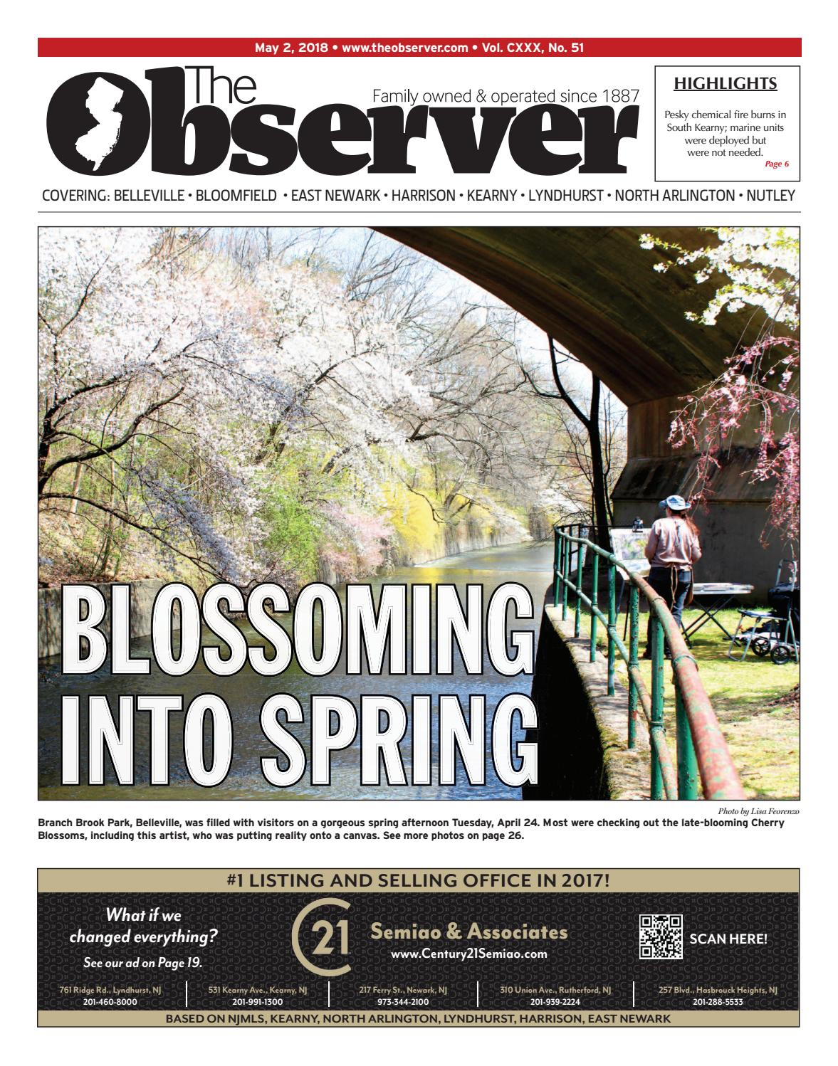 May 2, 2018 Early Edition of The Observer by Kevin Canessa Jr. - issuu
