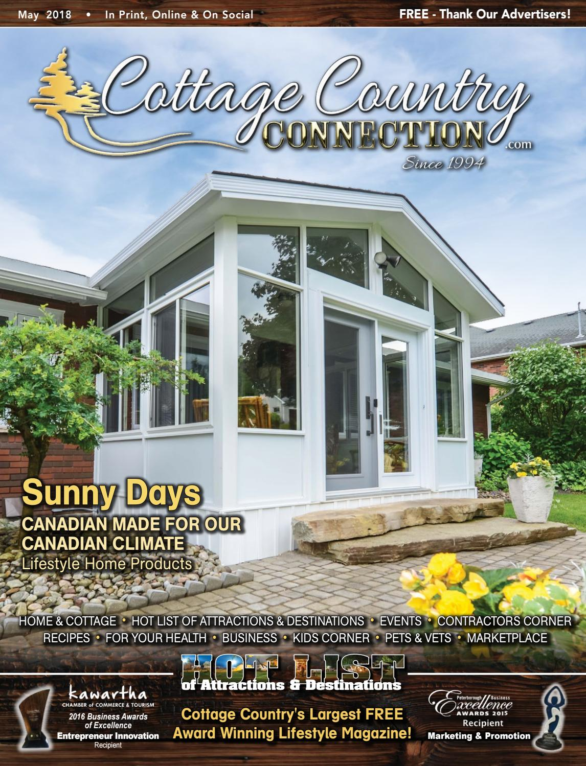 100dc9145 Cottage Country Connection May 2018 by Your Cottage Lifestyle ...