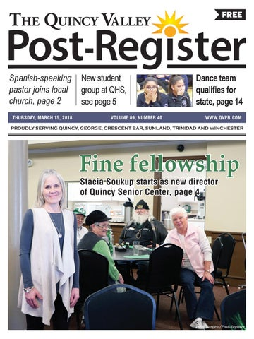 March 15 2018 By Quincy Valley Post Register Issuu