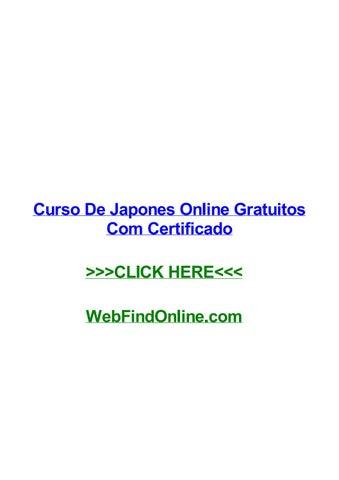 Curso De Japones Online Gratuitos Com Certificado By Lizkxaa Issuu