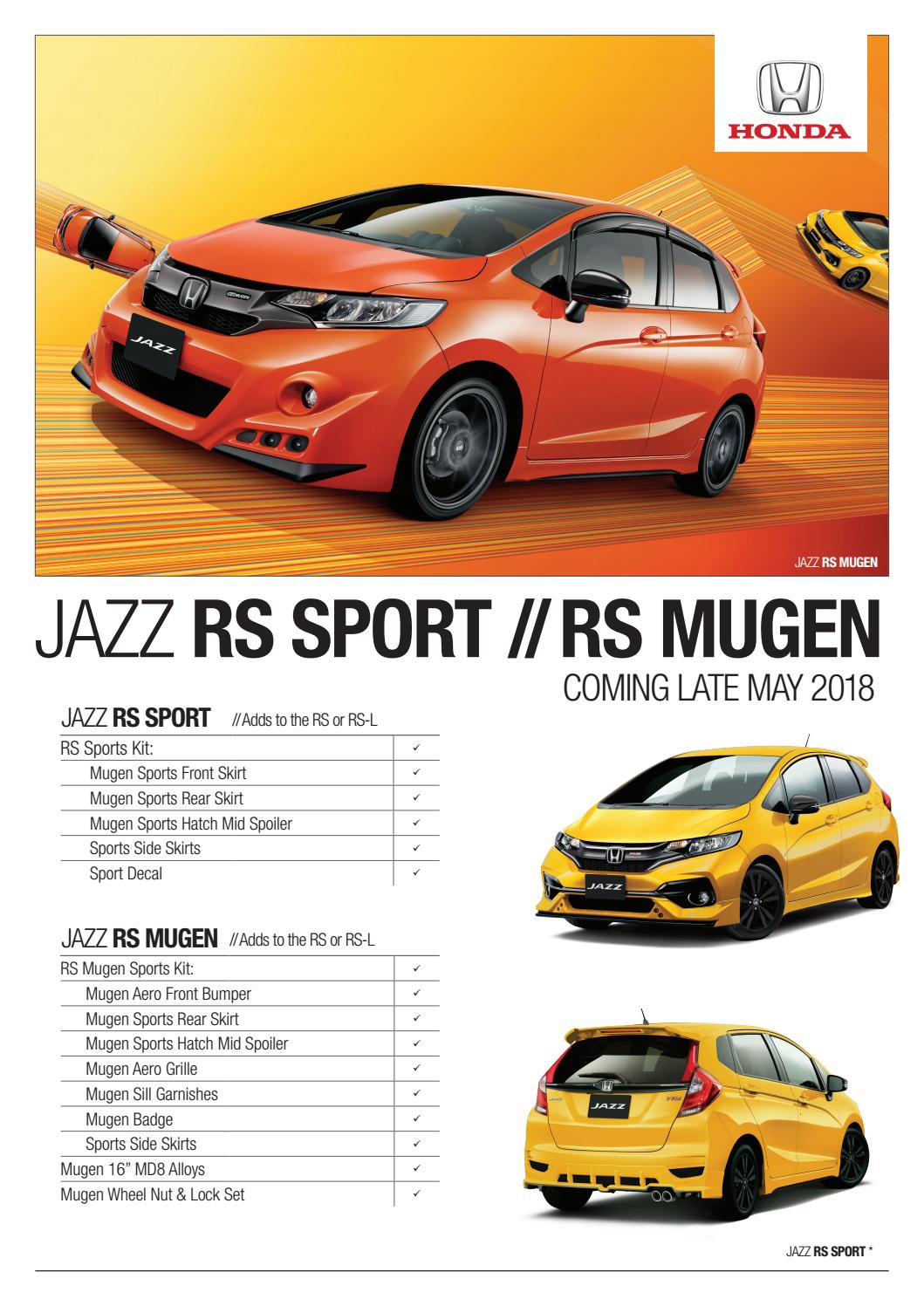 Kelebihan Jazz Rs Spesifikasi