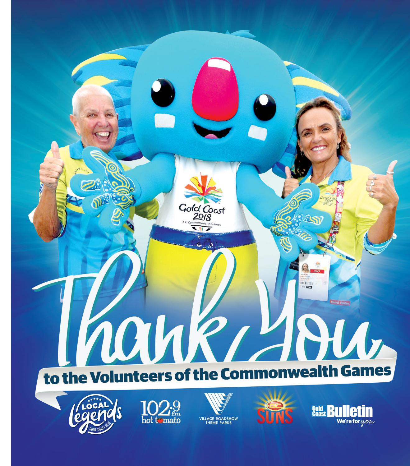 Amy Holland Pennell Wiki thank you commonwealth games volunteers magazinetanya