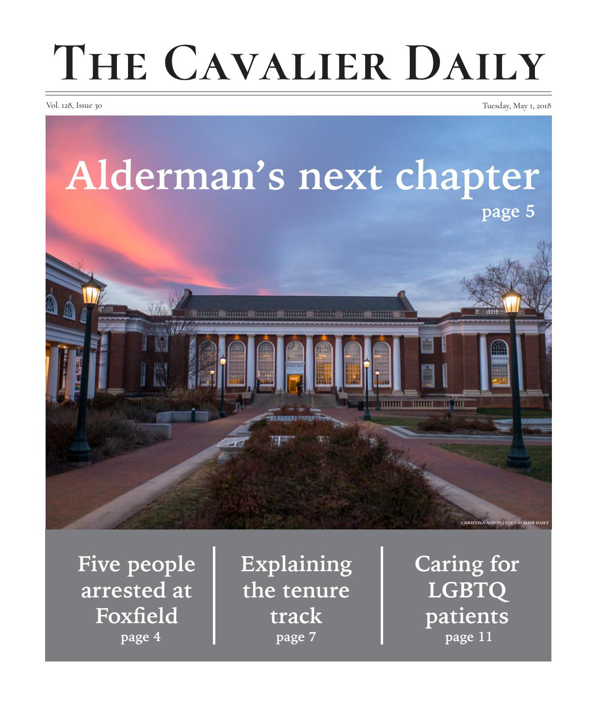 Tuesday May 1 2018 By The Cavalier Daily Issuu Crazy Telephone Wiring India