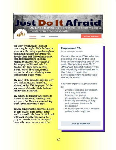 Page 22 of Just Do It Afraid
