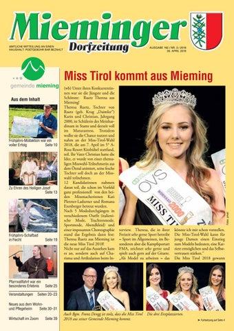 Mieminger Dorfzeitung Marz 2018 By Maria Thurnwalder Issuu