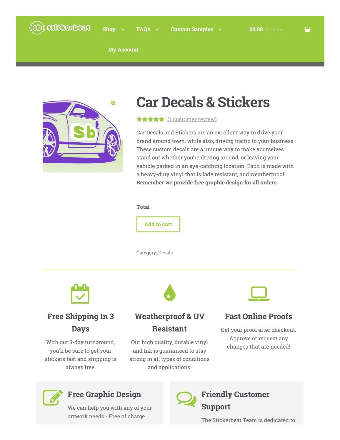 Sticker printing companies online