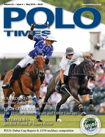 PoloTimes May18 By Edit   Issuu