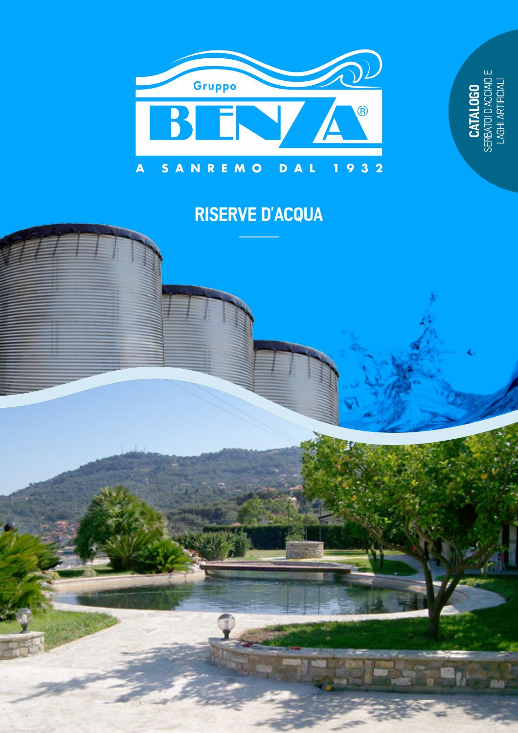 Telo Per Laghetto Da Giardino benza - riserve d'acqua by benza s.r.l. - issuu