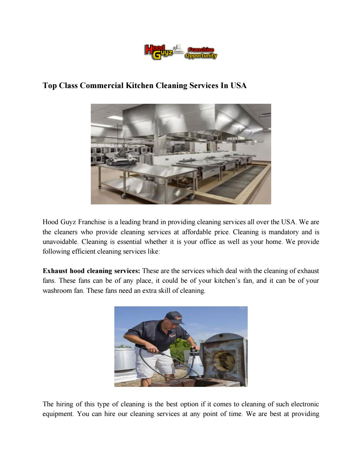 Best Commercial Cleaning Service Franchise Opportunities ...