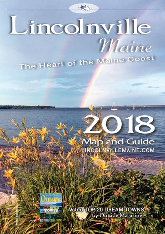 The Lincolnville Map Guide 2018 By Joseph Corrado Issuu