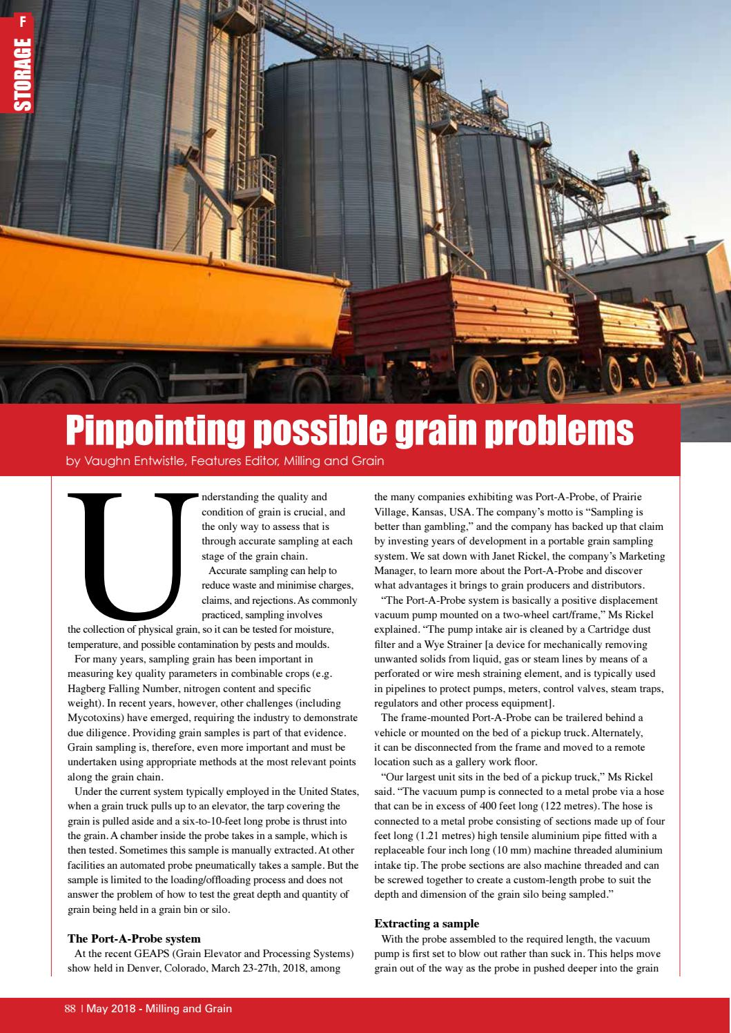 MAY 2018 - Milling and Grain magazine by Perendale