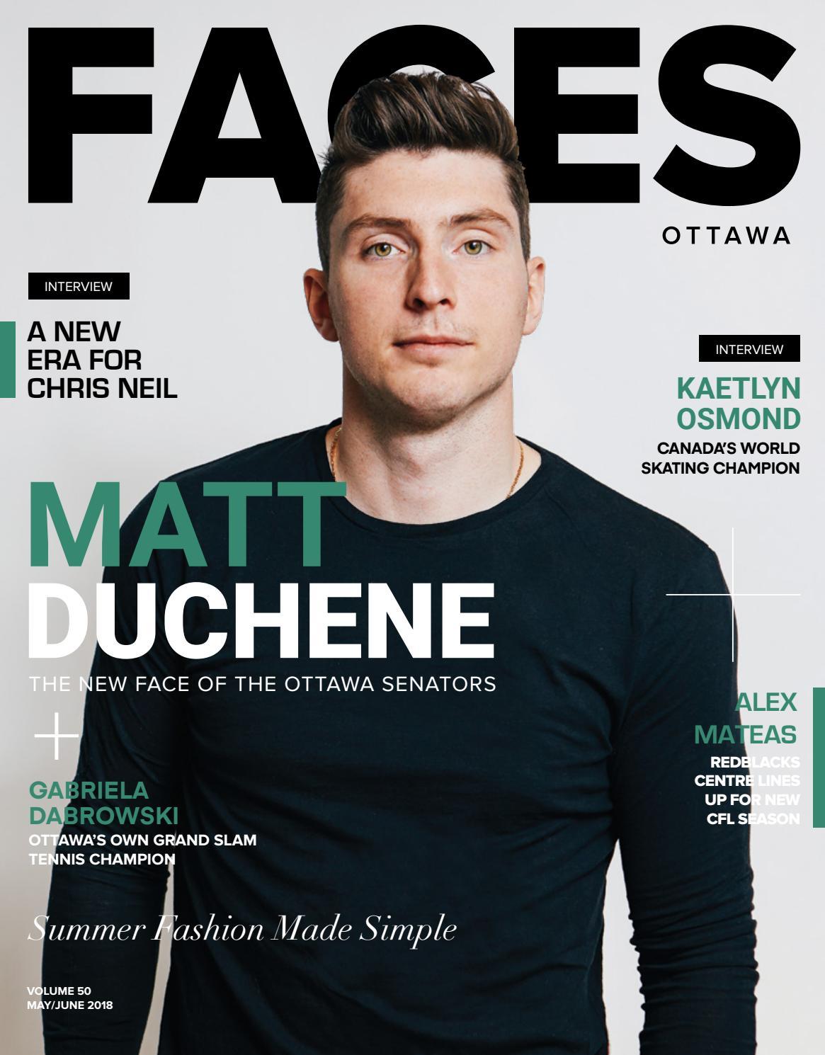 38915504a1 FACES Magazine - Issue 50 - May June 2018 - Matt Duchene by FacesMagazine -  issuu