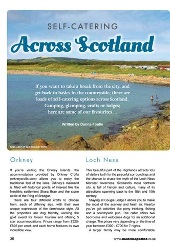Page 36 of Self-Catering Across Scotland