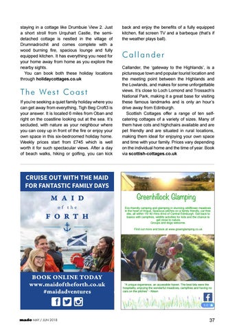 Page 37 of Self-Catering Across Scotland