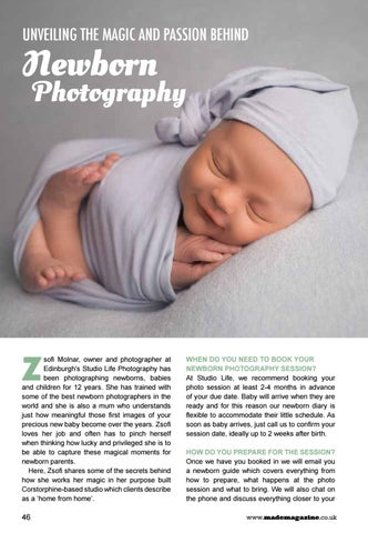 Page 46 of Unveiling the Magic and Passion Behind Newborn Photography