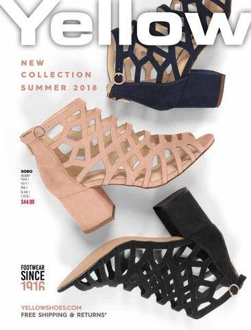 Yellow Shoes Summer 2018 Catalogue