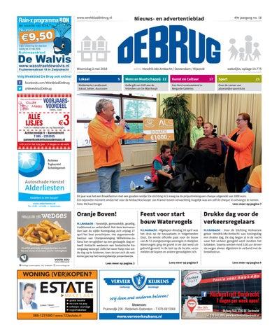 Weekblad De Brug Week 18 2018 Editie Hendrik Ido Ambacht By