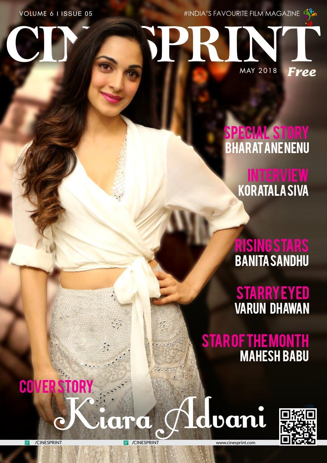 4bfddbbf446b Cinesprint Magazine May 2018 by Wishesh Digital Media Pvt Ltd - issuu