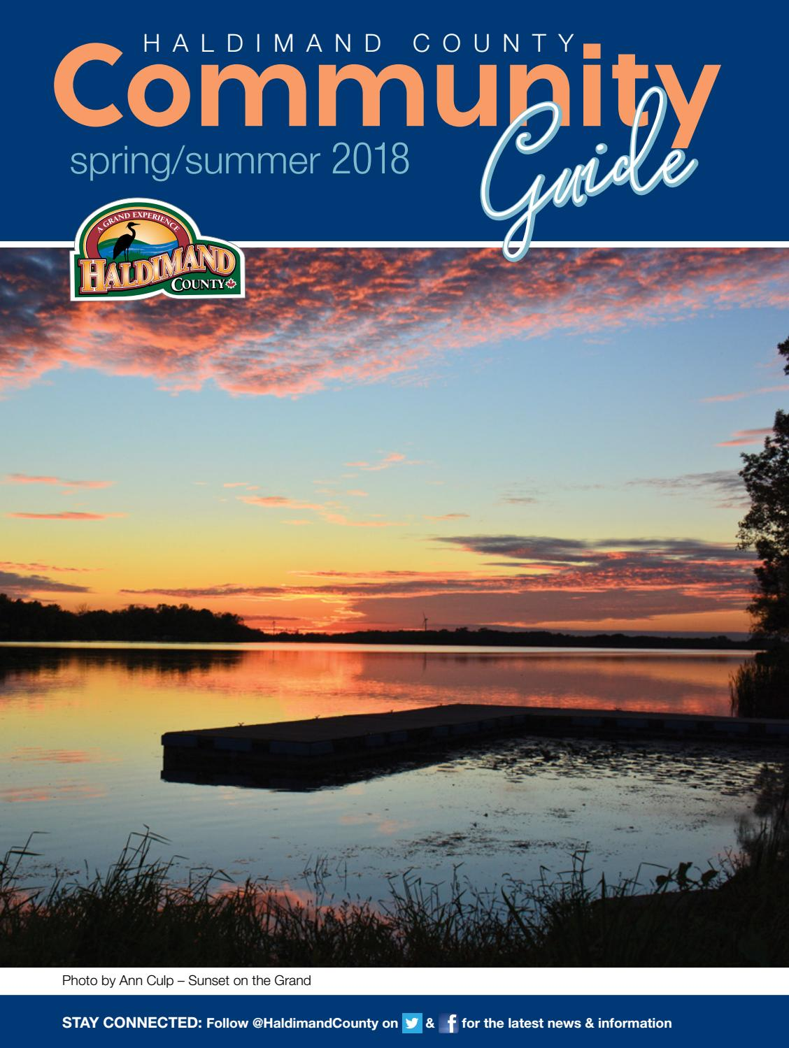 Haldimand County Spring/Summer 2018 Community Guide by