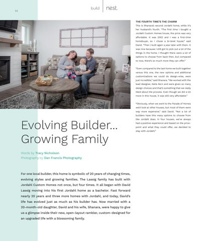 Page 54 of Evolving Builder...Growing Family