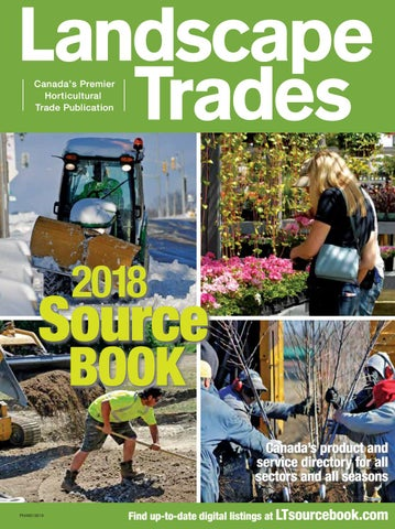 Landscape Trades Source Book May 2018 by Landscape Ontario