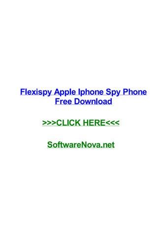 Flexispy apple iphone spy phone free download by mattvoakk