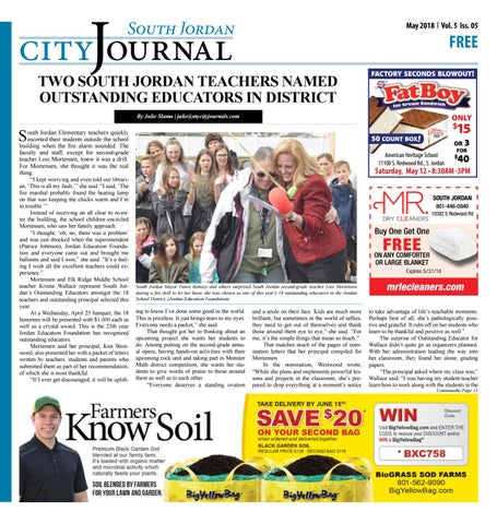 South Jordan City Journal May 2018 by The City Journals - issuu