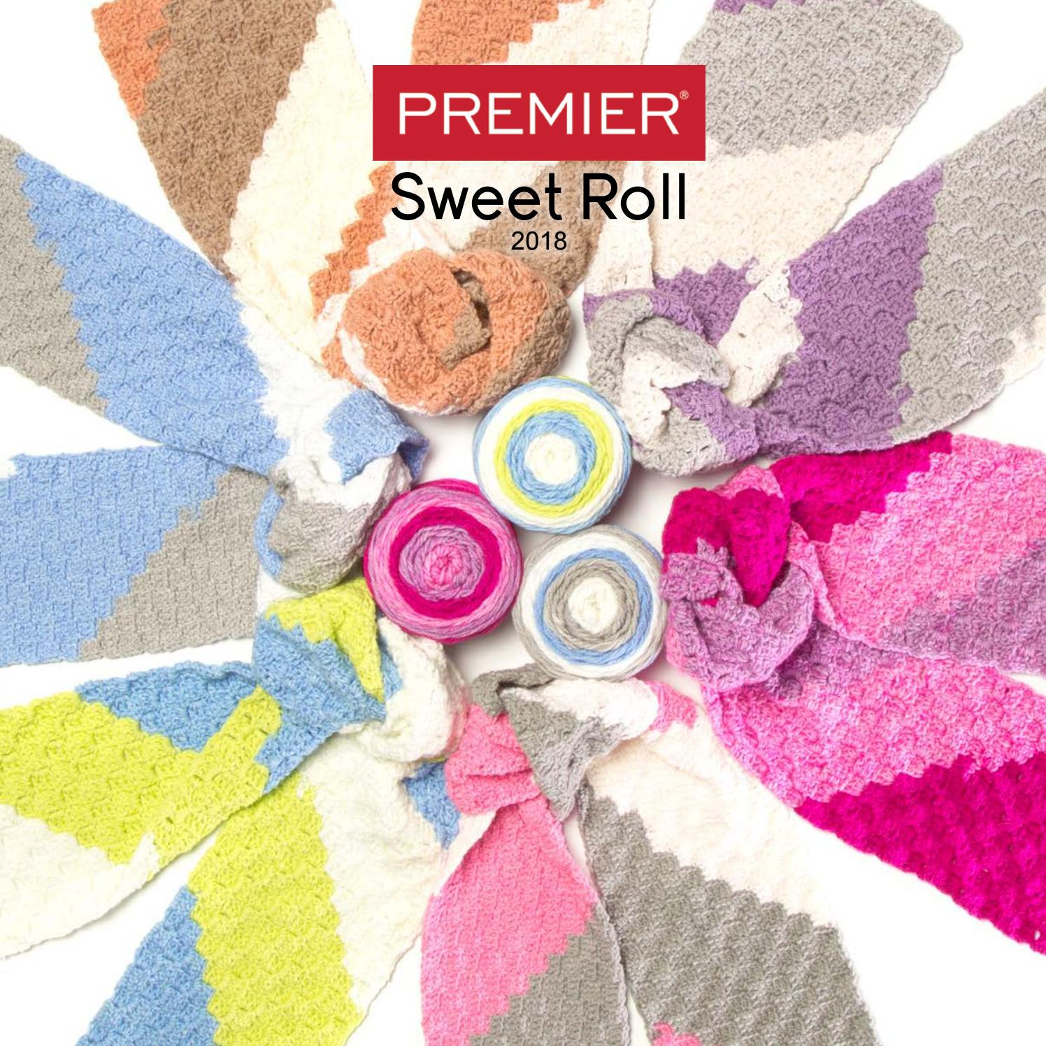 Sweet Roll 2018 Pages By Premier Yarns Issuu