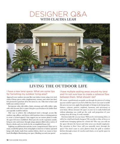 Page 18 of Designer Q&A with Claudia Leah