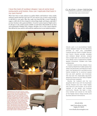 Page 19 of Designer Q&A with Claudia Leah