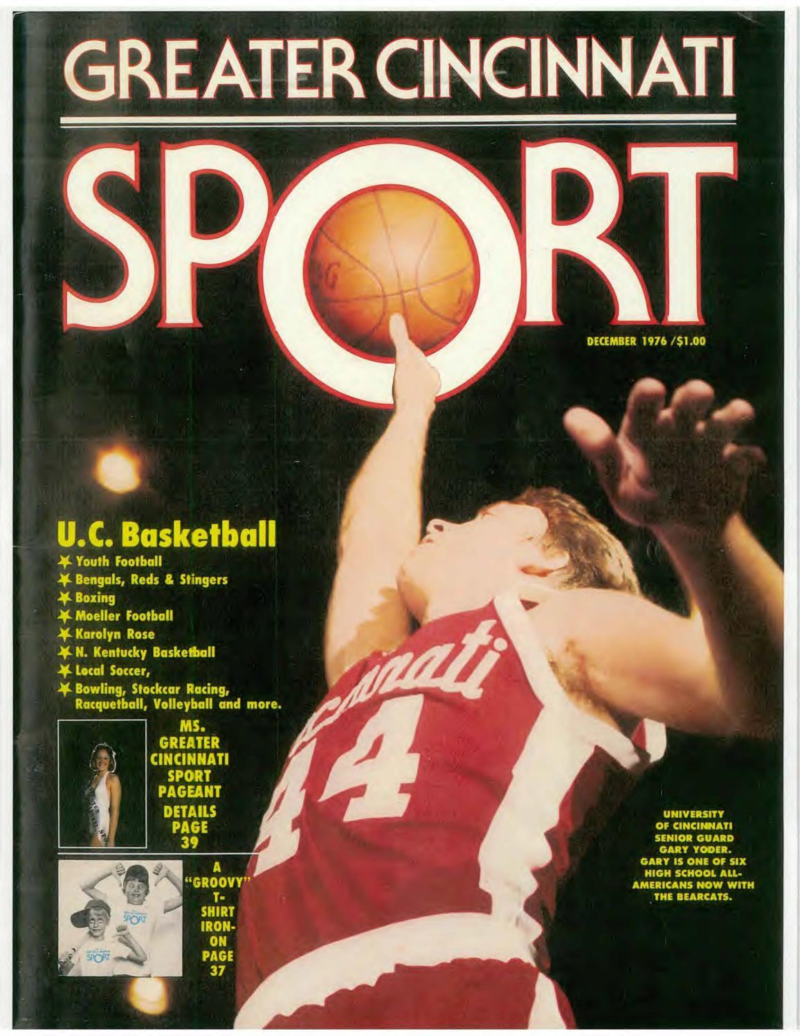 Moeller High School 1976-77 Greater Cincinnati Sports Magazine